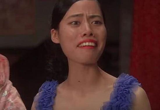 周星驰的配角背心经典珍原来是个美女,星爷选奶抖龅牙美女图片
