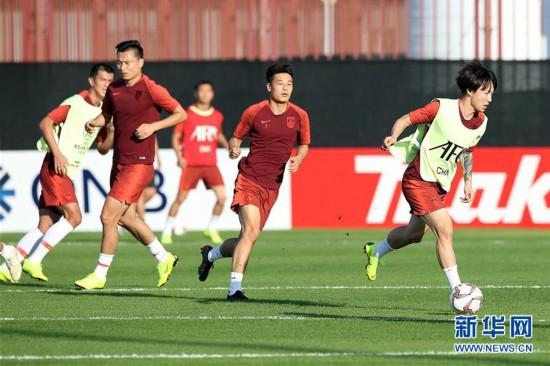 (体育)(5)足球--国足备战亚洲杯