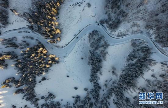 """(社会)(1)走进冰雪里的""""人间净土""""――喀纳斯"""