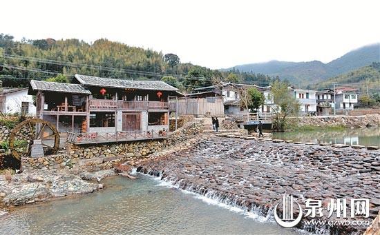 近些年德化的乡村游吸引众多游客,图为雷峰镇潘祠村。