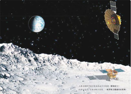 """嫦娥四号完美精准实现月背""""盲降""""   """"玉兔""""入月宫"""