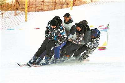 朝阳公园滑雪场现已全面开放: 尽享冰雪之趣