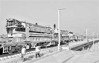 崇礼铁路开始全面铺轨   终点至崇礼区太子城站