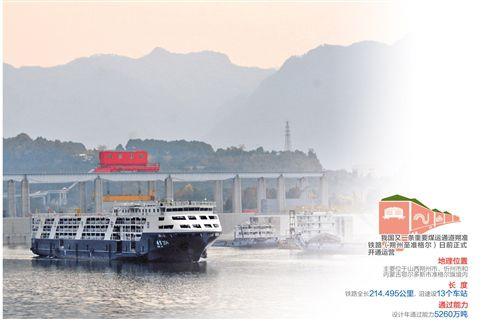 26.9亿吨!长江干线年货物通过量居世界内河首位