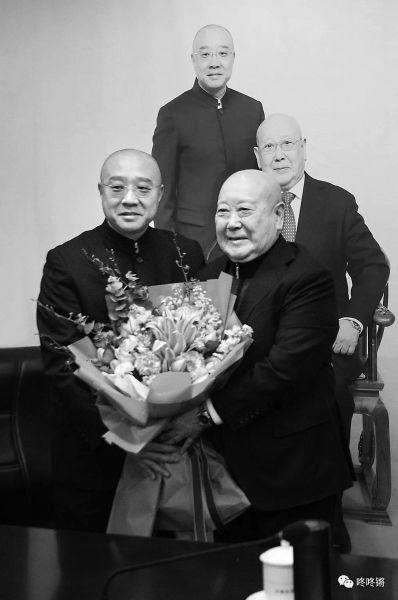 京剧表演艺术家尚长荣喜收新徒