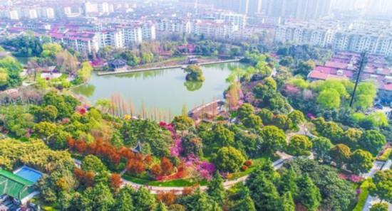 常州泰州被命名为2018年江苏省生态园林城市