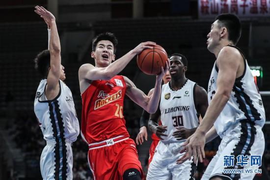 (体育)(4)篮球――CBA:辽宁本钢对阵八一南昌