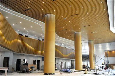 銀川國際航空港綜合交通樞紐工程進入收尾階段