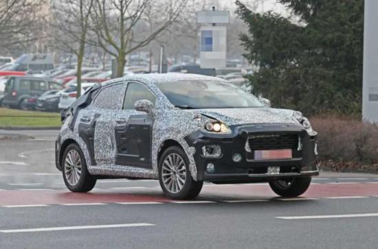 福特全新小型跨界SUV  未来或将顶替福特翼搏位置
