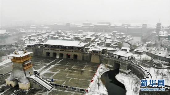 #(社会)(8)多地迎来降雪天气