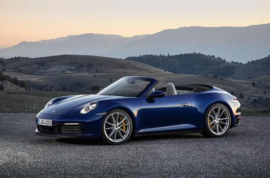 保时捷公布新款911 Cabriolet敞篷