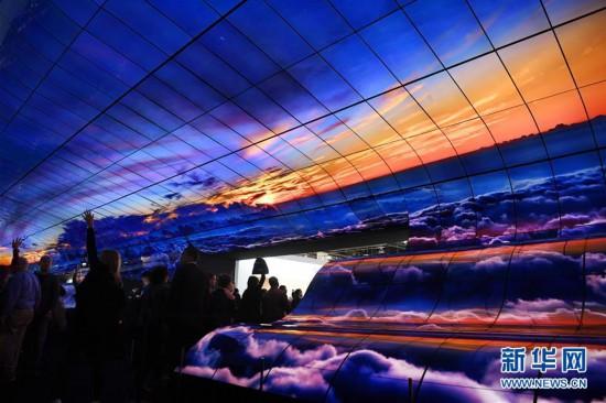 (国际)(1)拉斯维加斯消费电子展上的视觉盛宴
