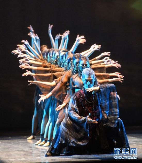 (文化)(1)大型全息舞台剧《阿里郎 大地之歌》亮相兰州