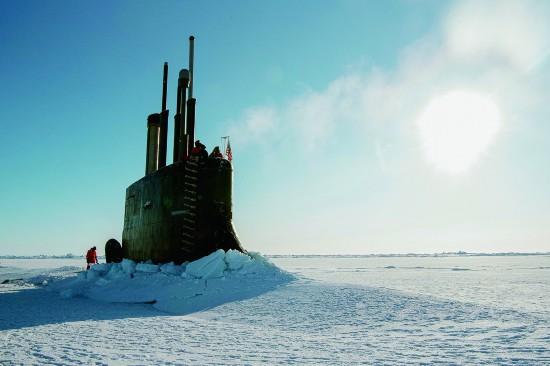 美媒:美军将向北极派水面舰艇 横穿北冰洋航道