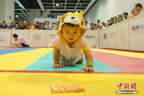 天真可爱的宝宝在参赛过程中笑料百出,妙趣横生.