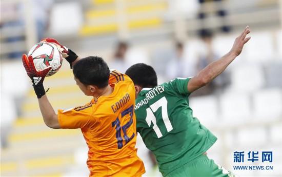 (新华视界)(5)足球――亚洲杯:日本队战胜土库曼斯坦队