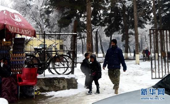 (国际)(1)冬天的阿富汗流离失所者