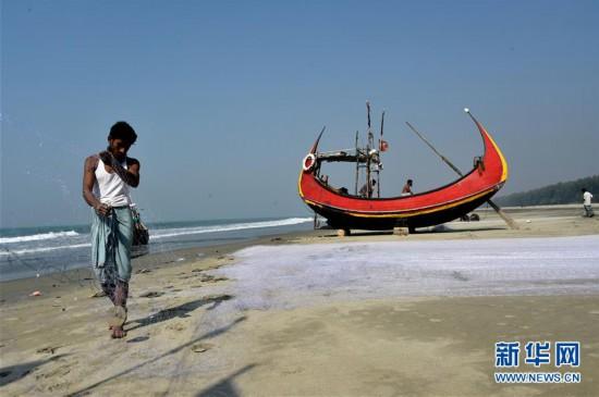 (XHDW)(1)孟加拉国的传统渔船