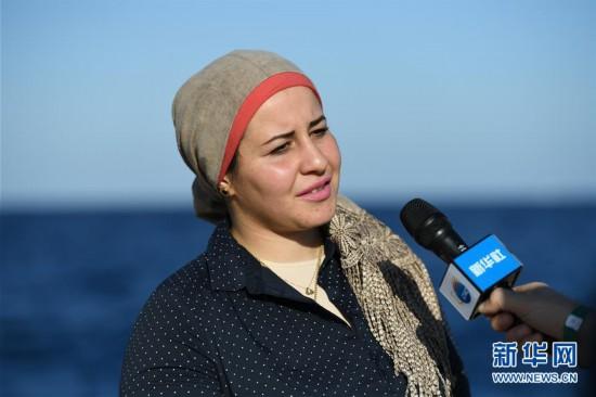(国际・图文互动)(2)通讯:水下追梦――记埃及首位女性水下焊接工程师