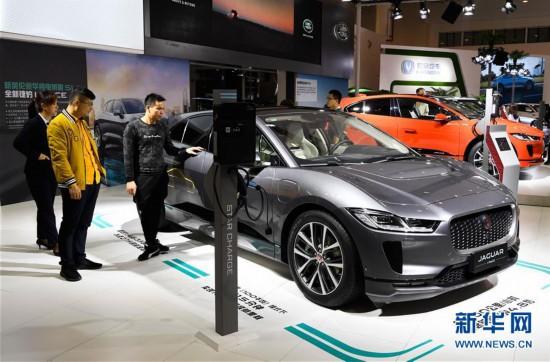 (经济)(1)2019海口国际新能源车展开幕