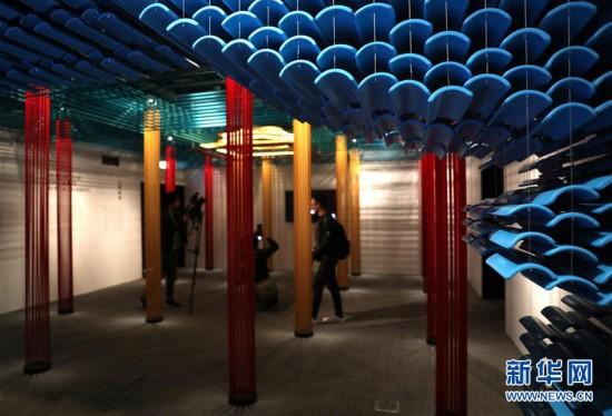 """(文化)(2)""""穿越紫禁城――建筑营造""""展在香港举行"""