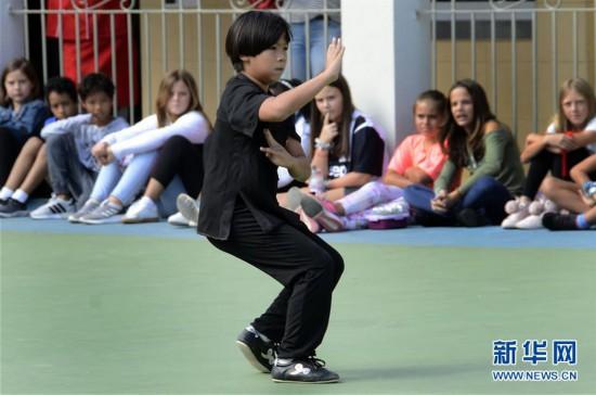 (国际・图文互动)(2)中国文化日活动在哈瓦那国际学校举行