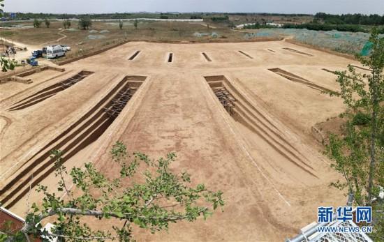 (图文互动)(1)陕西咸阳原首次发现集中分布的十六国时期墓葬