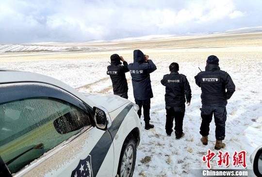 西藏阿里森林公安冬巡5300公里羌塘自然保护区未现违法行为