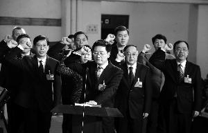 南京市十六届人大二次会议闭幕 张敬华讲话