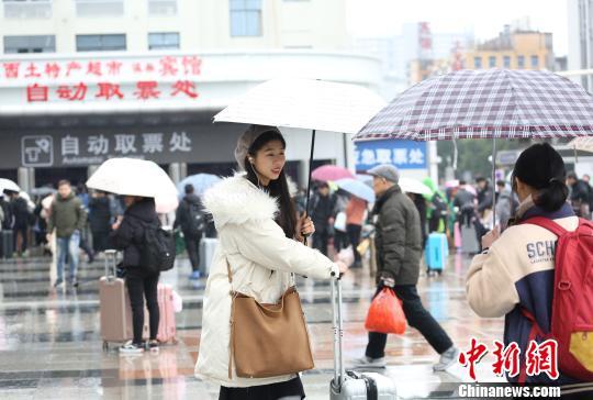 2019年春运赣闽两省铁路预计发送旅客3005万人次