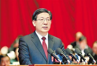 河北省政协十二届二次会议开幕 王东峰讲话