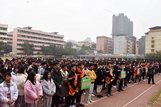 广西现代职业技术学院开展反邪教宣传