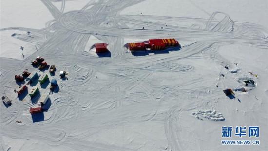 """(""""雪龙""""探南极・图文互动)(8)通讯:南极冰盖之巅深冰芯房探秘"""