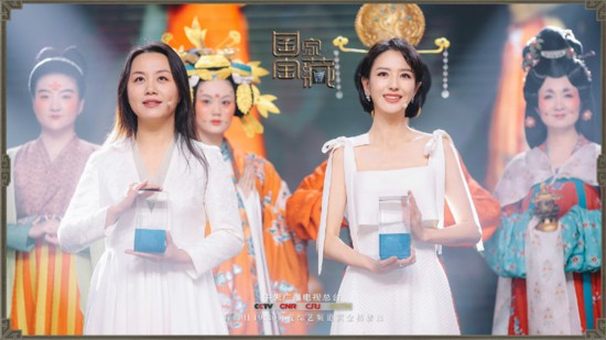 《国家宝藏》佟丽娅演绎国宝故事 身着初唐服饰翩翩起舞