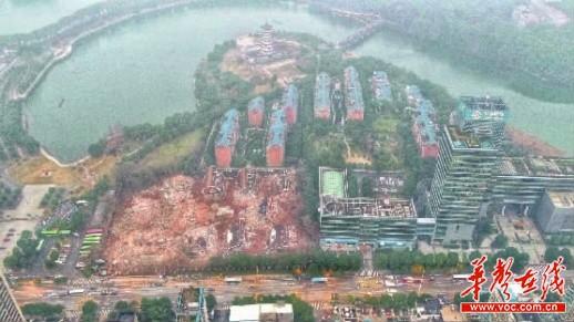 湖南烈士公园东门烂尾别青海清真寺木门墅群开拆将重建高层住宅和酒店