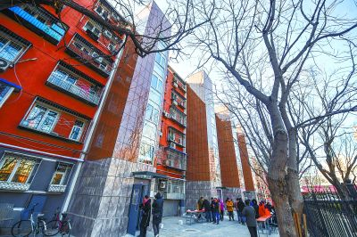 朝陽區潘家園30多年老樓通電梯