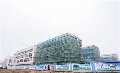 靖江实验学校城北分校主体封顶 9月1日招生