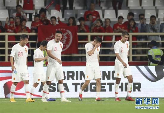 (亚洲杯)(1)足球――小组赛:中国队不敌韩国队