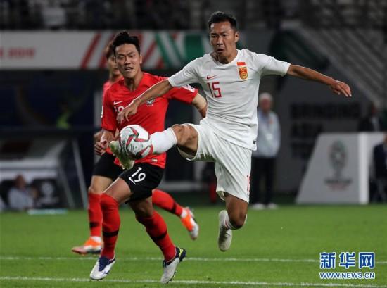 (亚洲杯)(4)足球――小组赛:中国队不敌韩国队