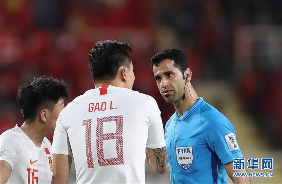 亚洲杯小组赛:中国队不敌韩国队