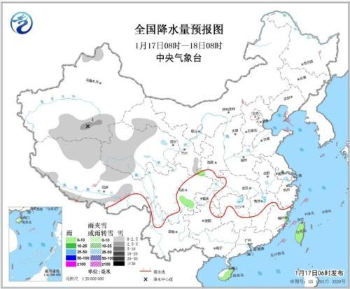 华北平原等地有轻至中度霾18日起南方有降水过程