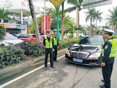 海南严厉打击车辆假牌套牌行为 群众举报有奖励