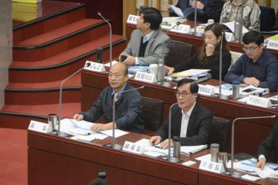 """韩国瑜议会首秀强调自己是""""九二共识""""坚定支持者牧文人体摄影"""