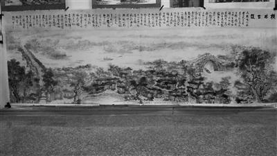 """常州武进男子环湖写生6年 画下""""原生态太湖"""""""