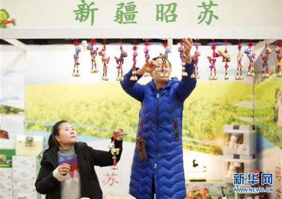 江苏泰州南通等地市民购年货迎新年