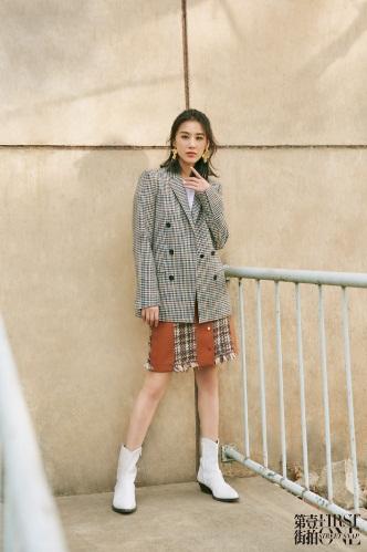 黄圣依玩转时尚穿搭法则,一秒帮你解决选衣难题