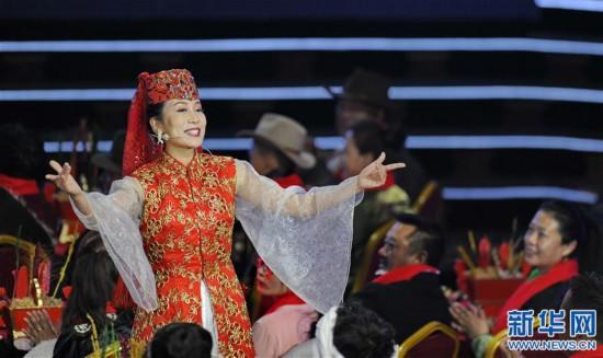 (文化)(4)2019春节藏历新年联欢晚会在拉萨录制