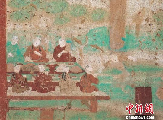 """敦煌石窟里的""""大寒""""旧俗:岁末""""建福"""" 万吉万宜"""