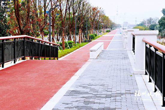 福州乌龙江西岸休闲绿道下月开放 长约5.8公里