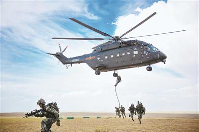 军报记者亲历陆军某空中突击旅第二一四次空地协同攻防演练